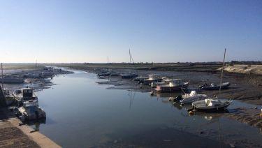 Port de Loix sur l'ile de Ré