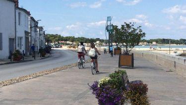 Rivedoux Plage et les pistes cyclables