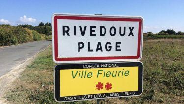 Entrée du village Rivedoux Plage
